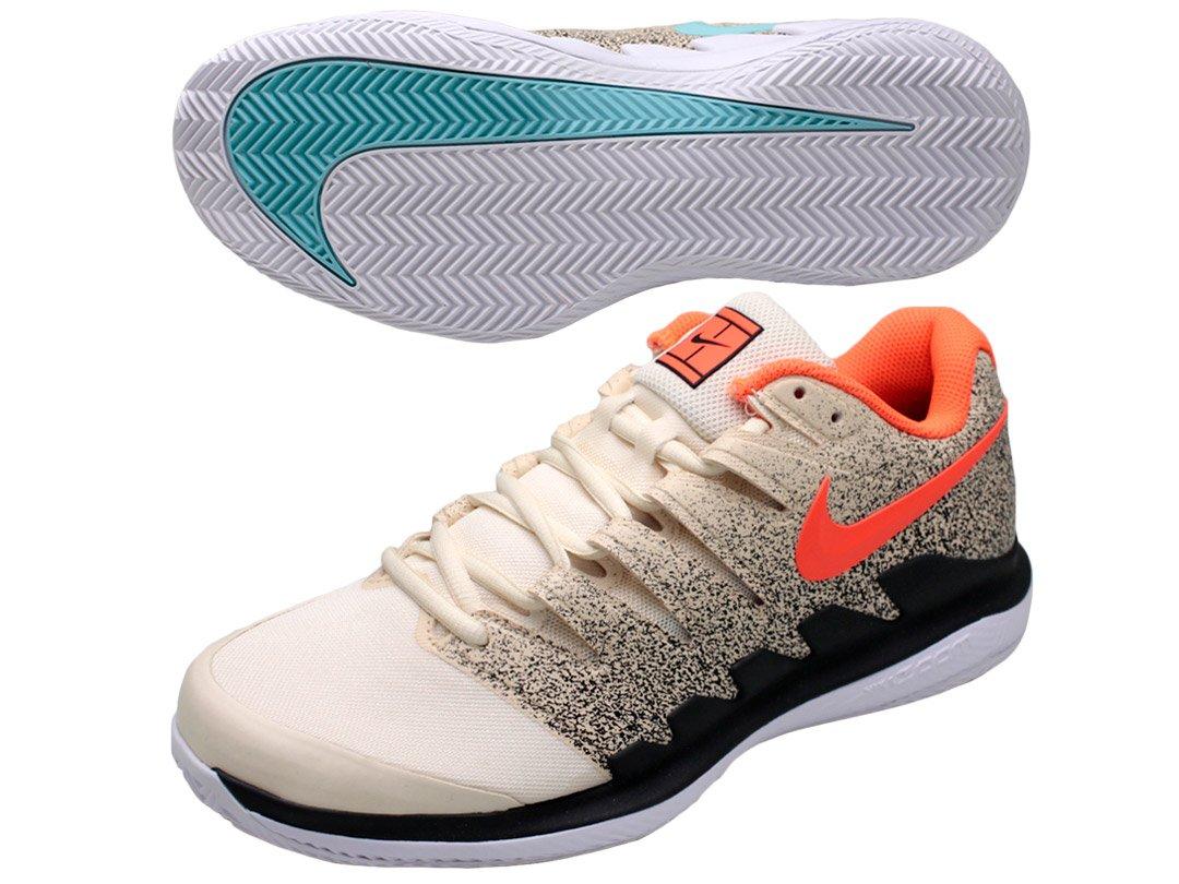 ナイキ(NIKE) テニスシューズ エア ズーム ヴェイパー X クレイ AA8021-200 B07CMZ126Q 28.5 200:ライトクリーム