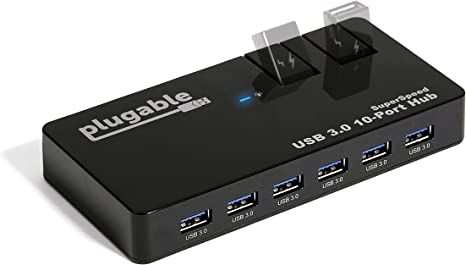 Portable Double Sided Pluggable USB LED Card Night White Light Power Lamp  LJ