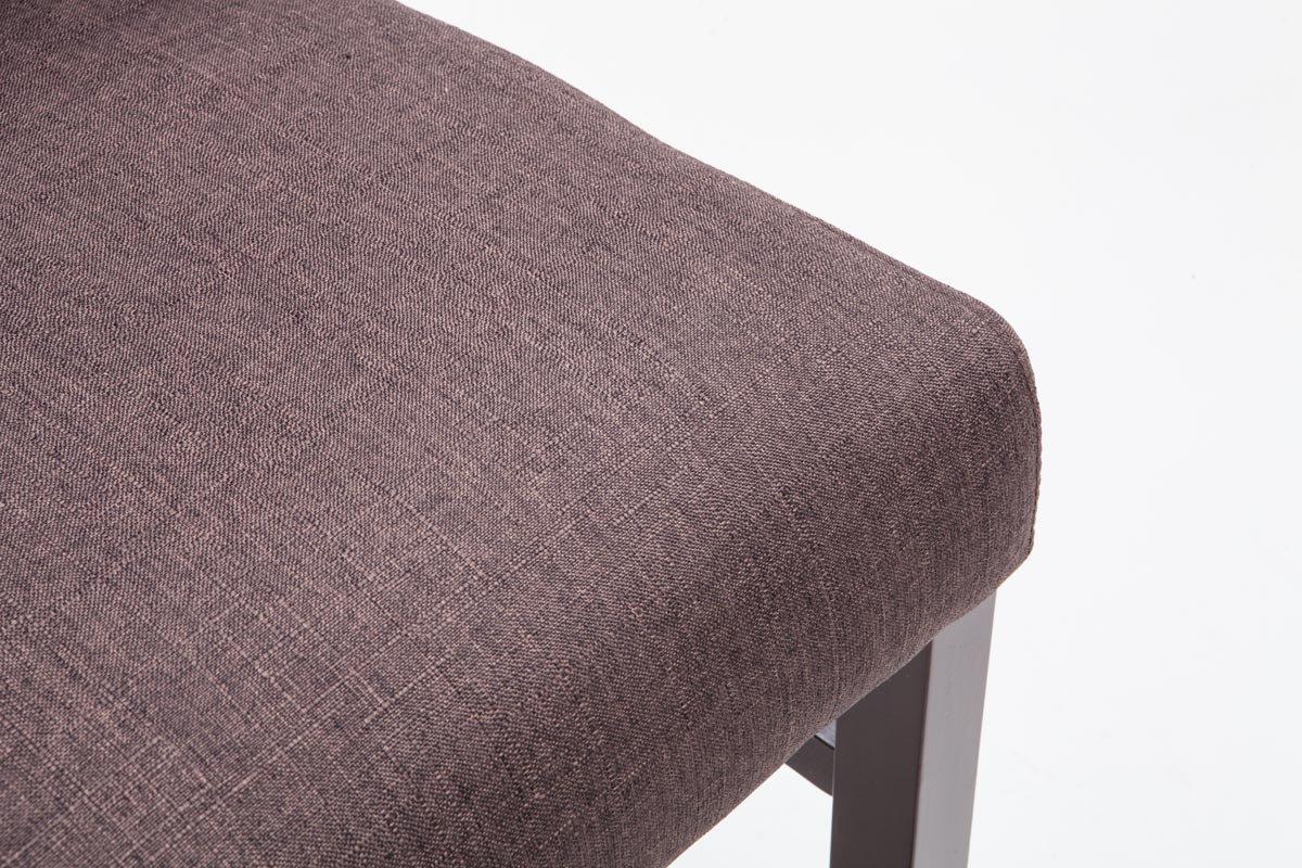 Clp sgabello alto bar alvin fodera in tessuto e telaio in legno