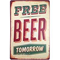 Drink Good Beer with Good Friends Vintage Tin Sign Wall Decor 20 X 30 cm 8x12 Inch