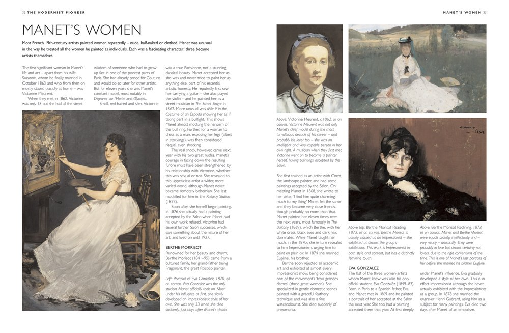 Buy Manet His Life And Work In 500 Images Book Online At Low Prices