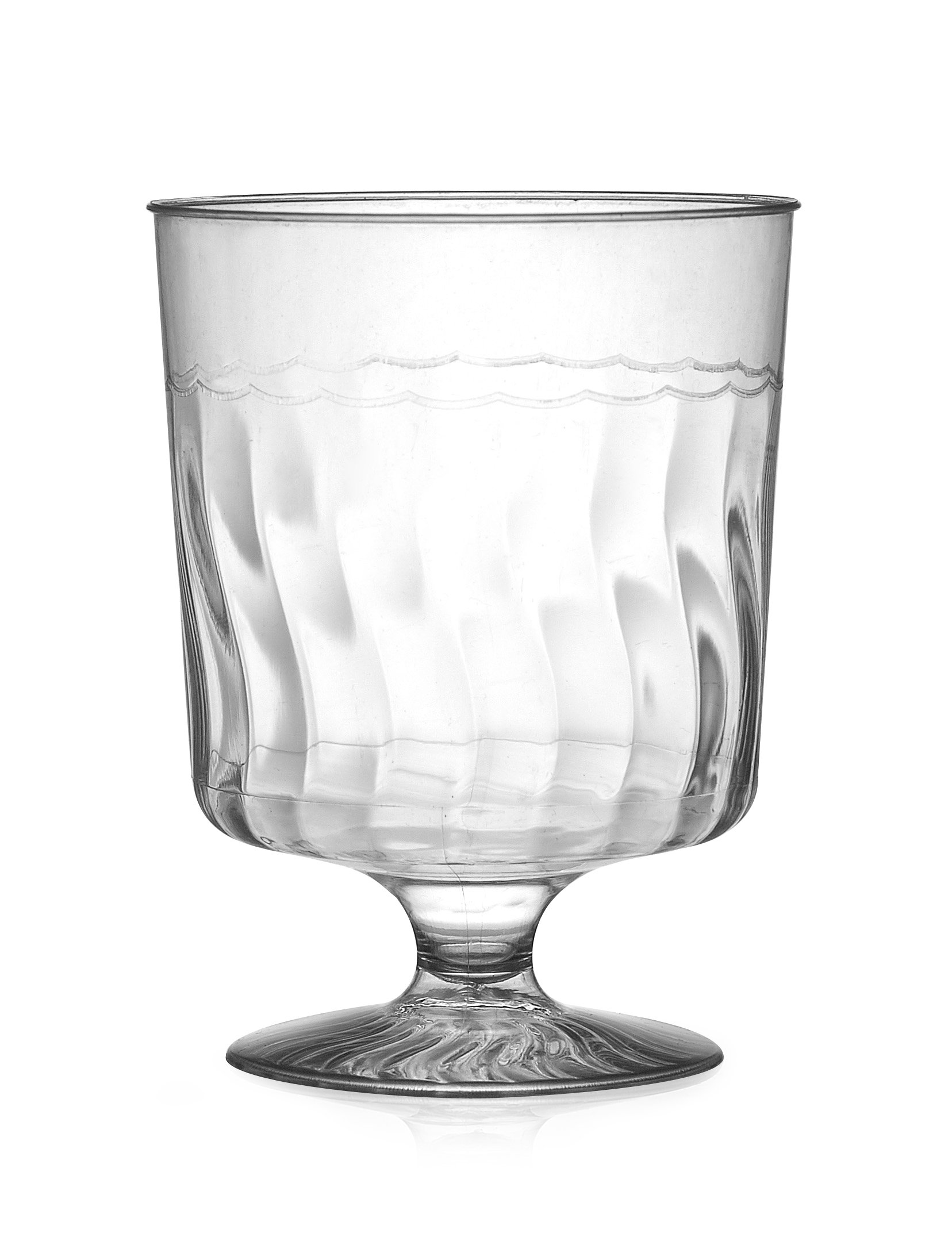 Fineline Settings Flairware Clear  5.5 oz. One Piece Wine Glass  240 Pieces by Flairware