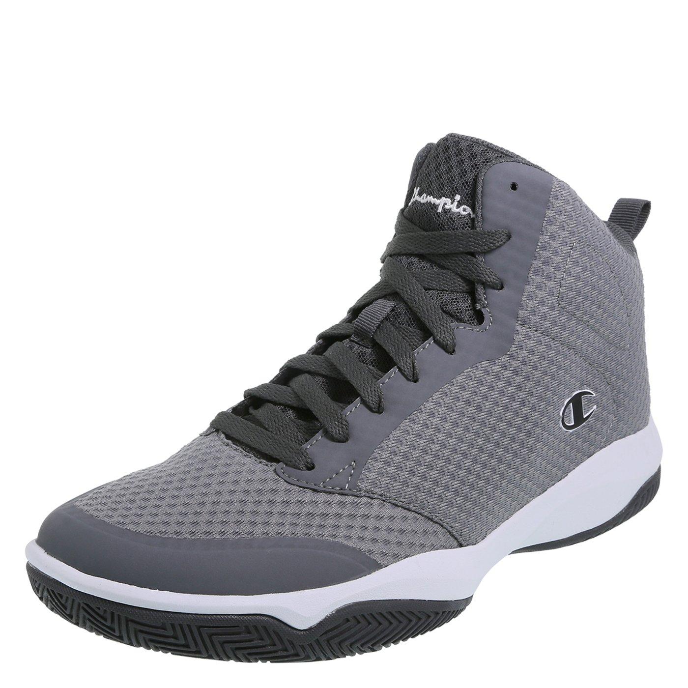 Champion Men's Grey Men's Inferno Basketball Shoe 8.5 Regular