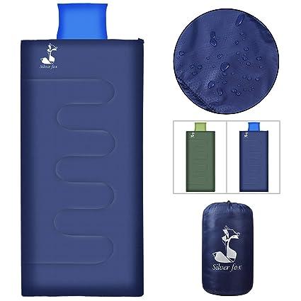 SilverFox - Saco de Dormir (Ligero, Lavable a máquina, 3 Estaciones, Saco