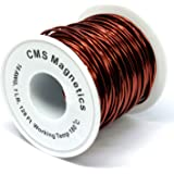 20 Length Red 20/' Length 0.0469 Diameter Remington Industries-Wire 0.0469 Diameter Remington Industries 17SNSP.125 Magnet Wire 17 AWG Enameled Copper Wire Wound 2 oz.