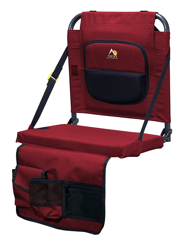 【お買得】 GCI Outdoor Bleacher Lumbar, Back Lumbar, [並行輸入品] Red [並行輸入品] Outdoor B0742H282X, オオサトグン:4e905130 --- efichas.com.br