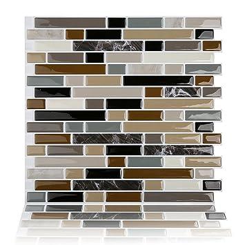Amazoncom Sample Magictiles Peel And Stick Backsplash Tile For - Peel-and-stick-backsplash-tile-property