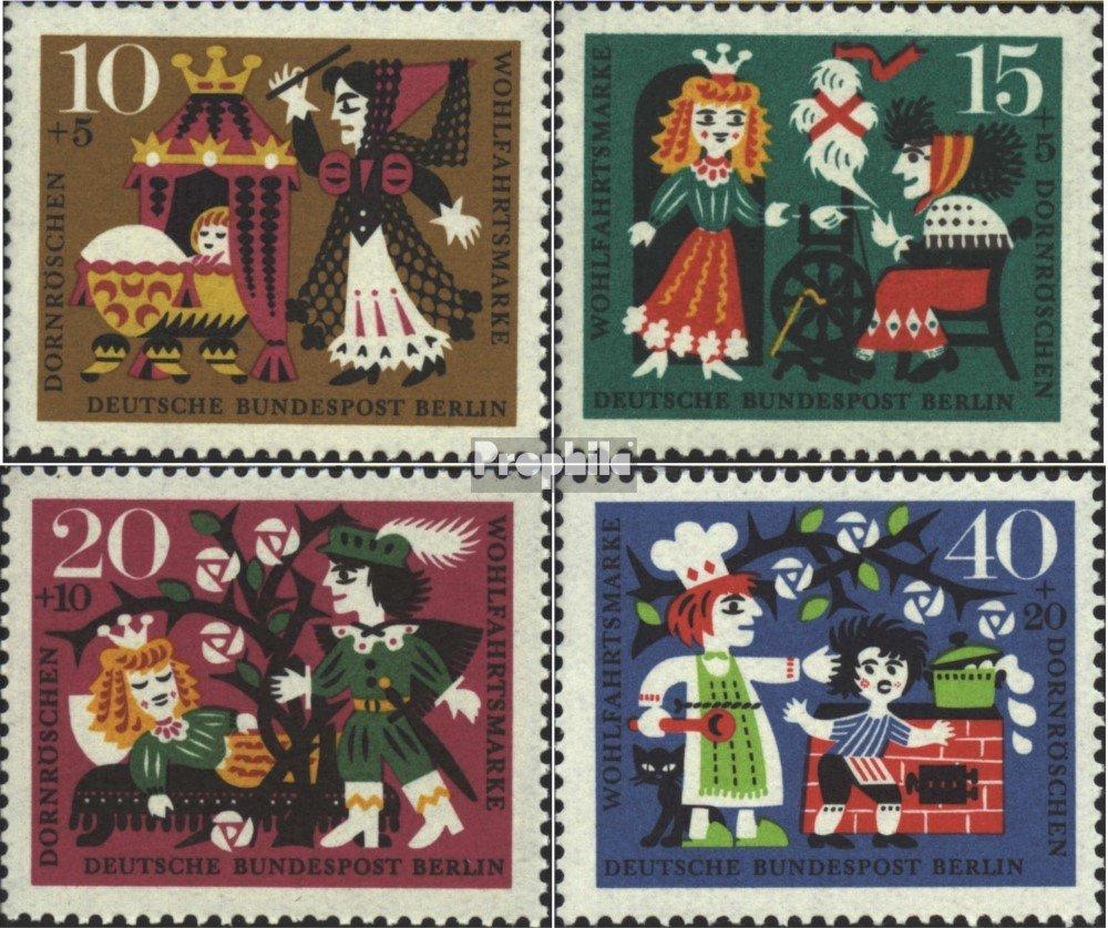 1964 Timbre de Complaisance 237-240 West Berlin compl/ète./édition Timbres pour Les collectionneurs