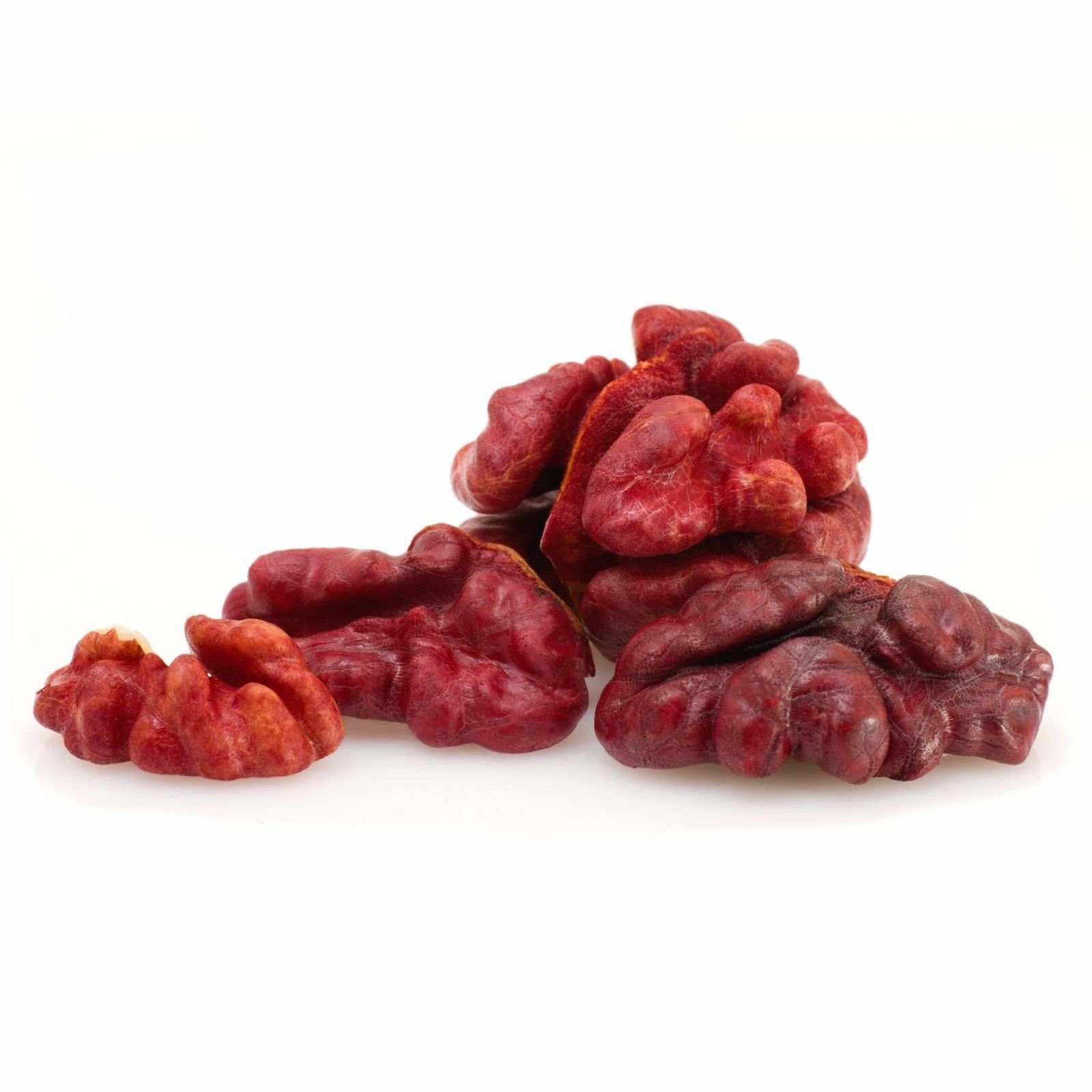 California Red Walnuts, 25 Pounds — Raw, No Shell, Kosher, Unsalted, Natural, Bulk