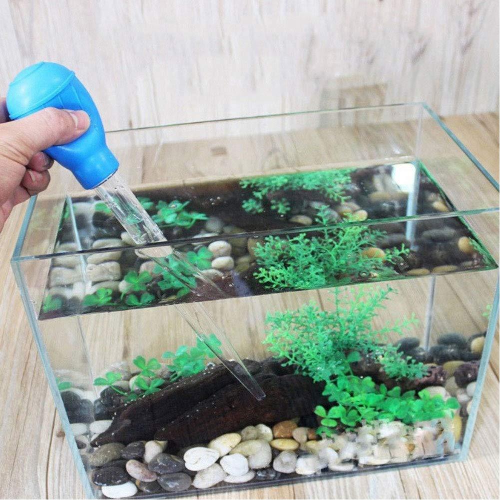AchidistviQ - Comedero para Acuario, Multifuncional, para Limpieza de Grava, diseño de pecera: Amazon.es: Hogar