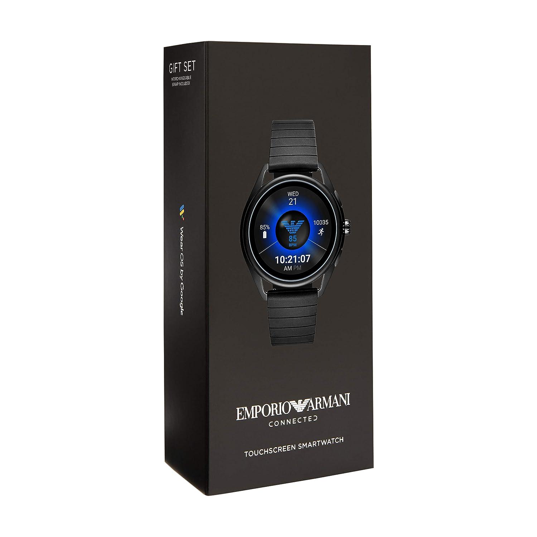 Emporio Armani Connected - Smartwatch con pantalla táctil ...