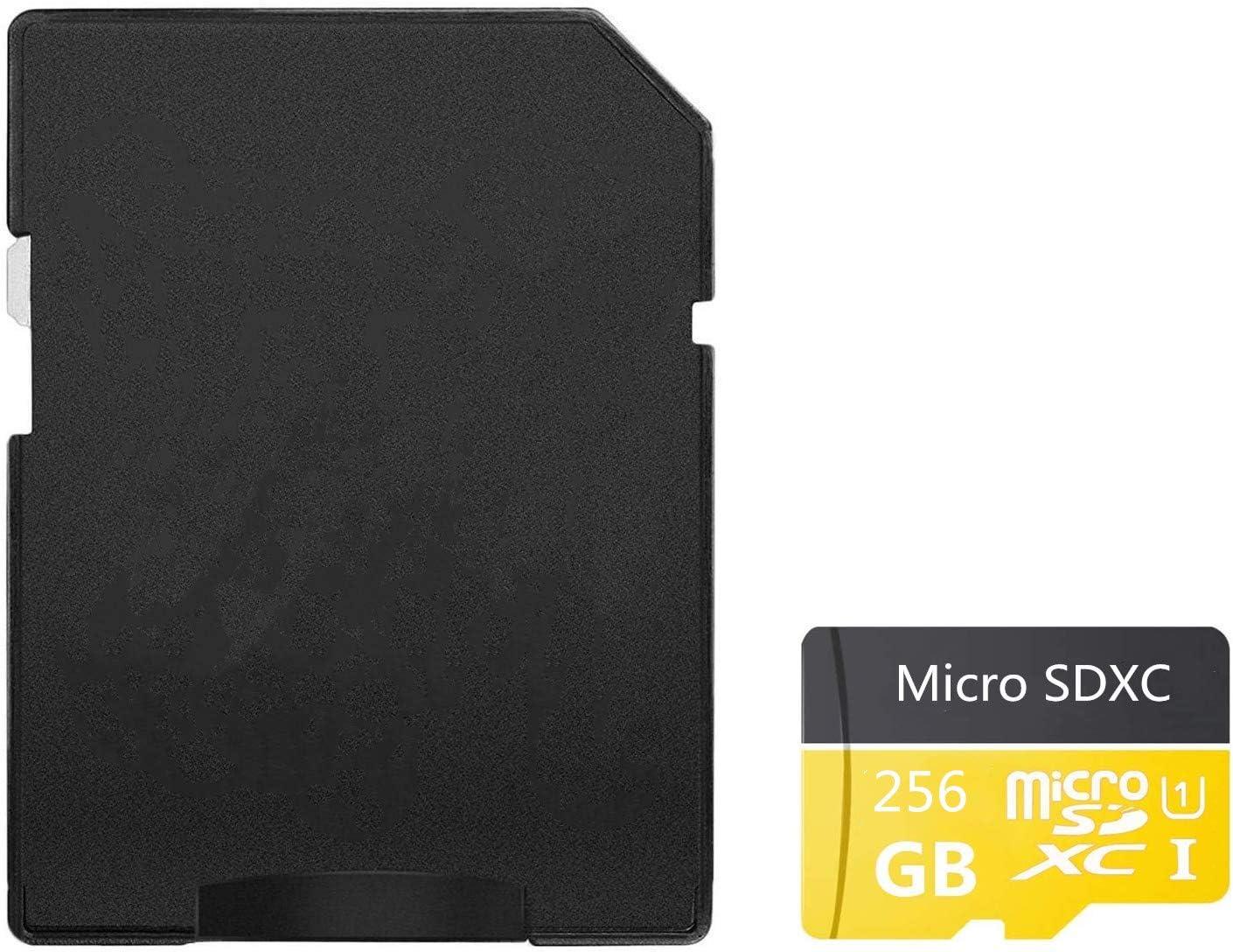 256 GB, clase 10, SDXC, con adaptador Genericc Tarjeta de memoria micro SD