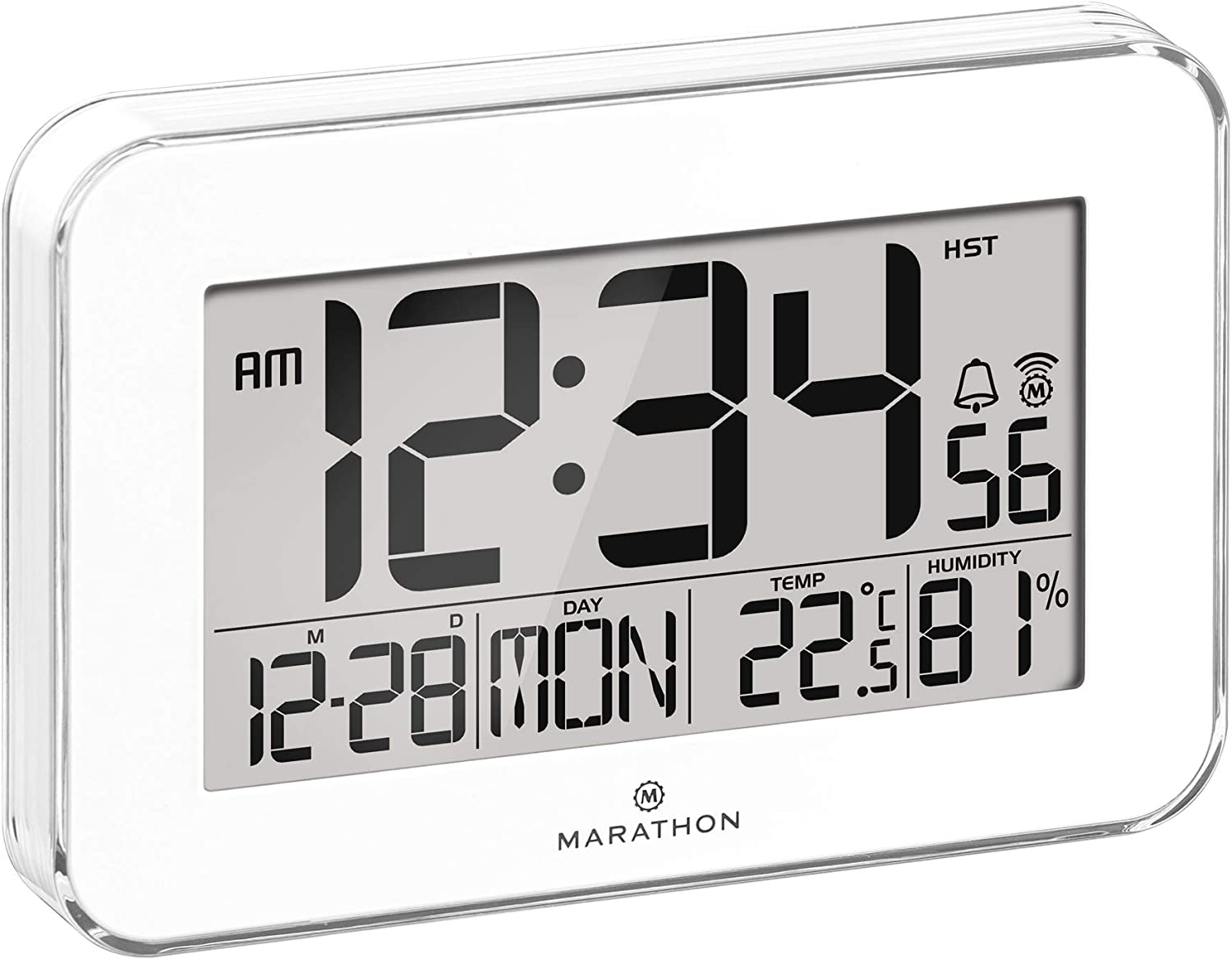 A picture of this clock to better elaborate Best atomic digital wall clock With Large Displays