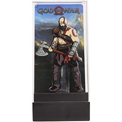 God of War Kratos FiGPiN Enamel Pin: Toys & Games