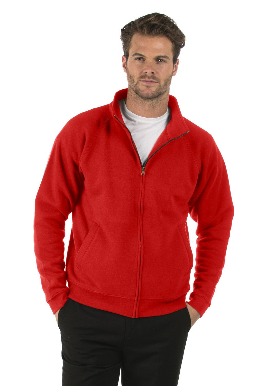 Bruntwood Classic Full Zip Sweat Jacket - Mens & Ladies - 280GSM - Cotton/Polyester BFSJ