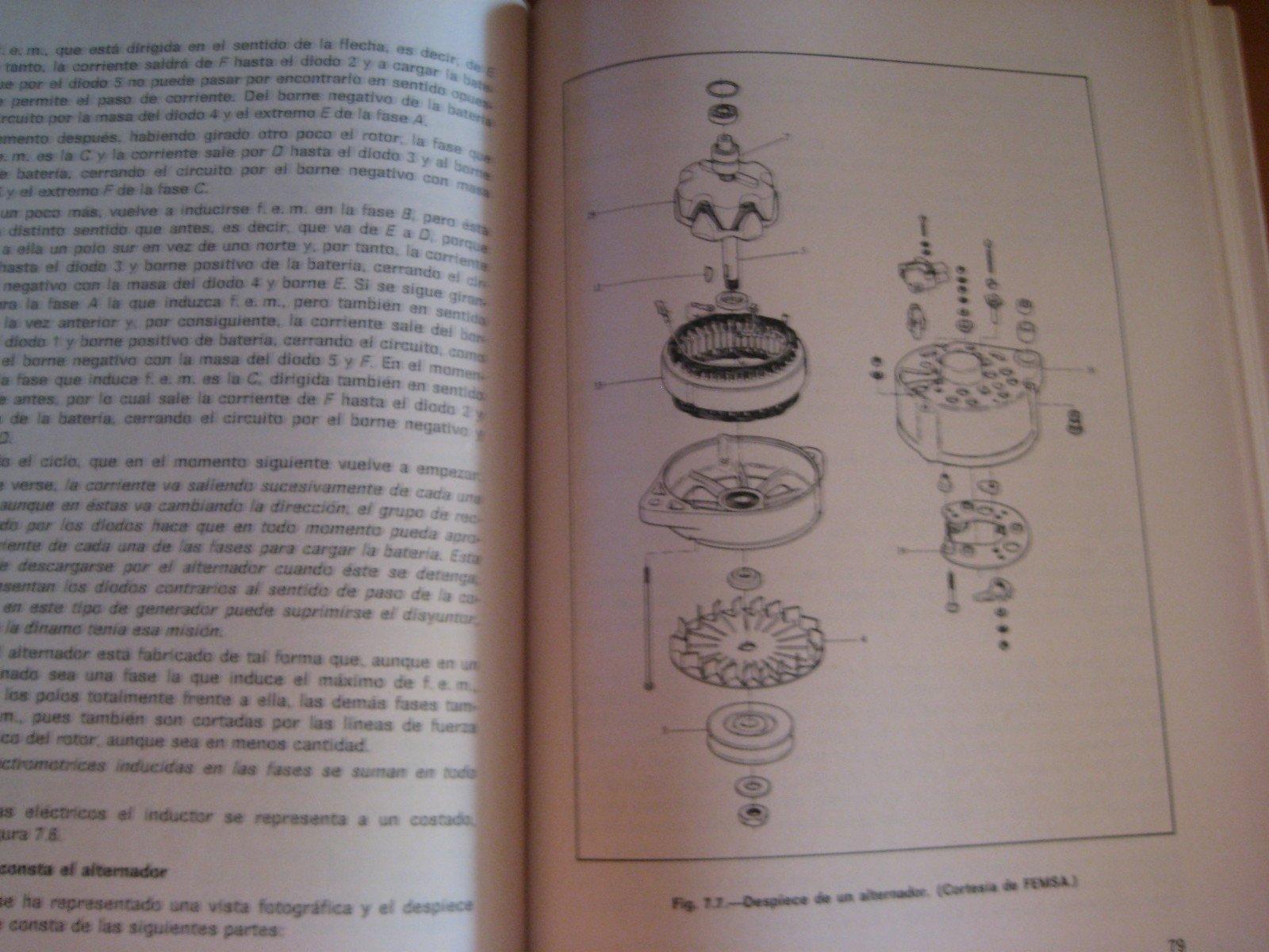 TECNOLOGIA DE AUTOMOCION.ELECTRICIDAD DEL AUTOMOVIL: Amazon.es: M. ALONSO PÉREZ, Paraninfo: Libros