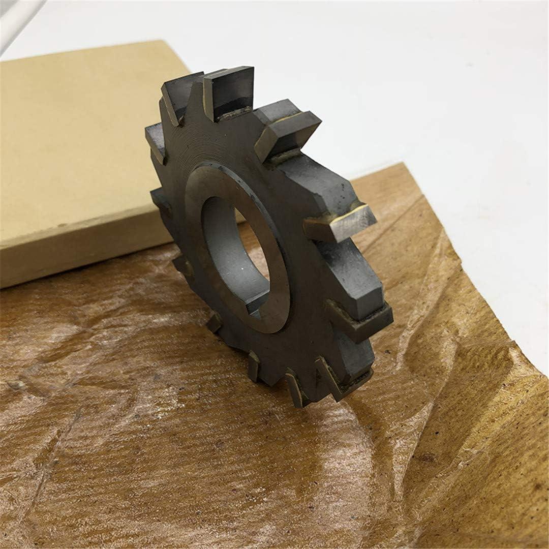 YG8 Carbide Tipped Tungsten Steel Insert Three - Sided Milling Cutter D80 D63-12-8-22 D63-4-12-22