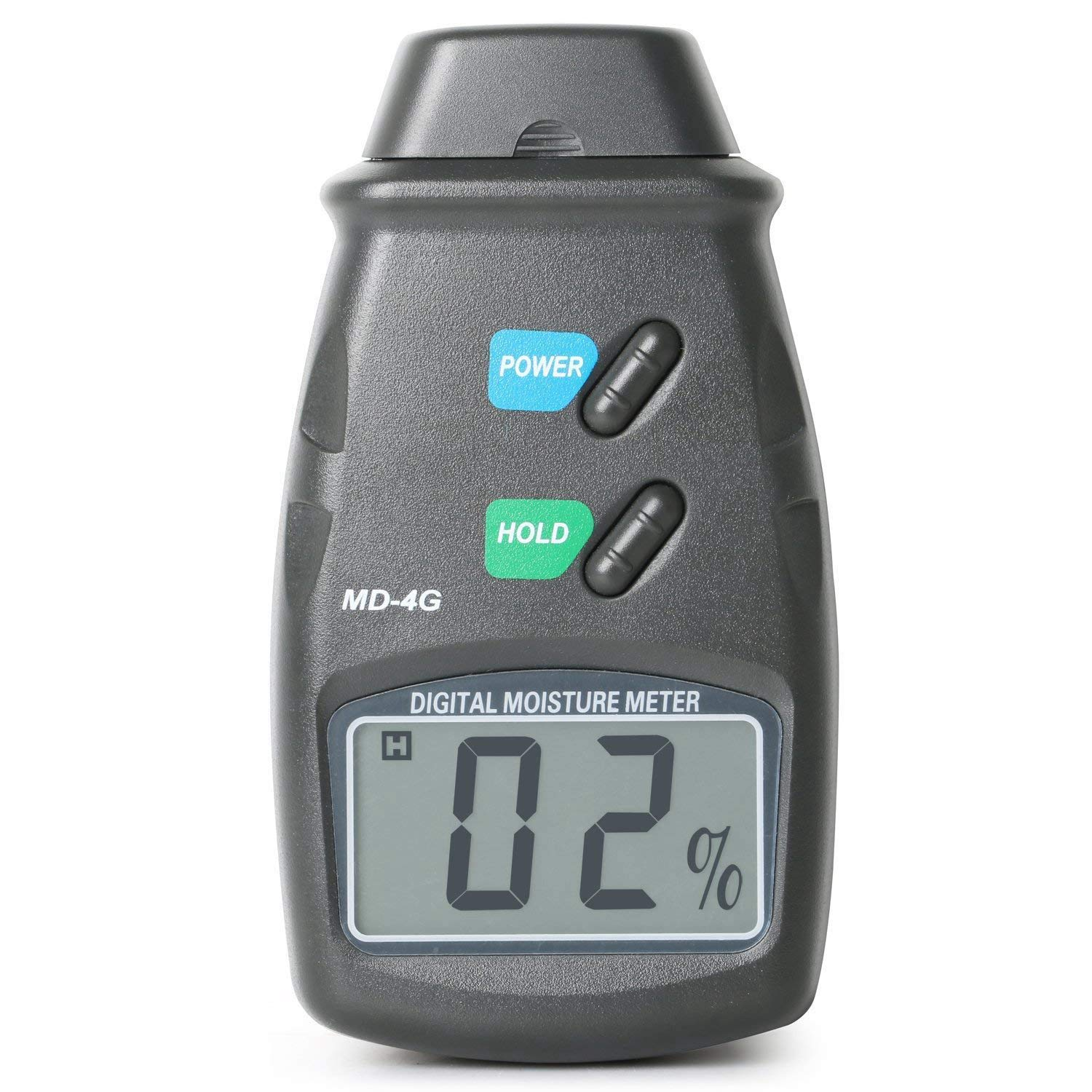 SODIAL Damp Digital Meter and Carry Ca - 2 Pin Moisture Tester for Wood, Plaster Walls