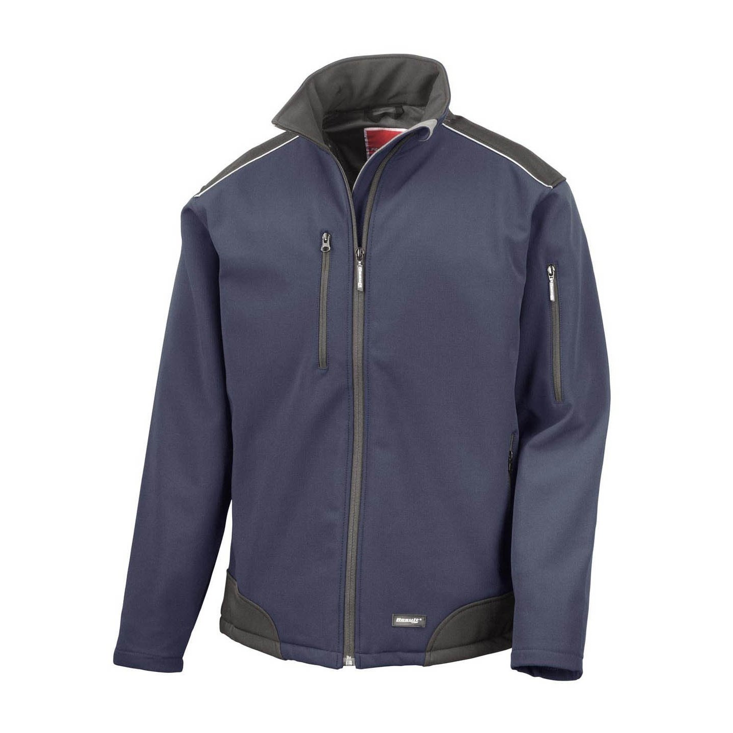 Result Mens Ripstop Soft Shell Breathable Weatherproof Jacket at Amazon Mens Clothing store:
