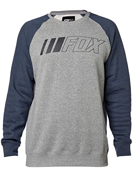 Fox Blusa crewz Heather Chaqueta, graphite, tamaño XL ...