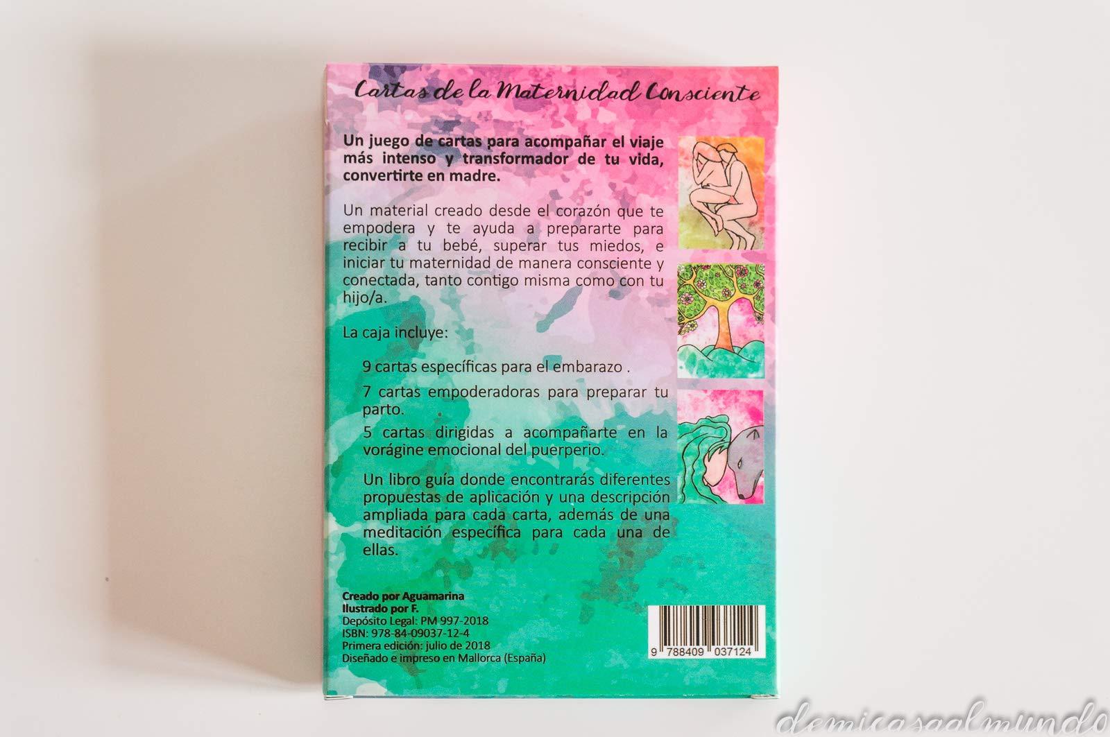 Cartas de la Maternidad Consciente: Amazon.es: Aguamarina ...