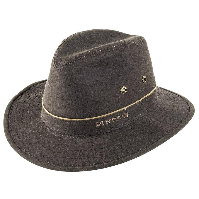 3146ff72dbf46 Stetson Hats - Sombrero de Vestir - para Hombre marrón marrón L-59 cm   Amazon.es  Ropa y accesorios