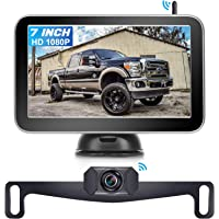 AMTIFO AM-W70 7 Inch HD 1080P Digital Wireless Backup Camera for Trucks,Cars,Vans,Campers,Hitch Rear View Camera Kit…