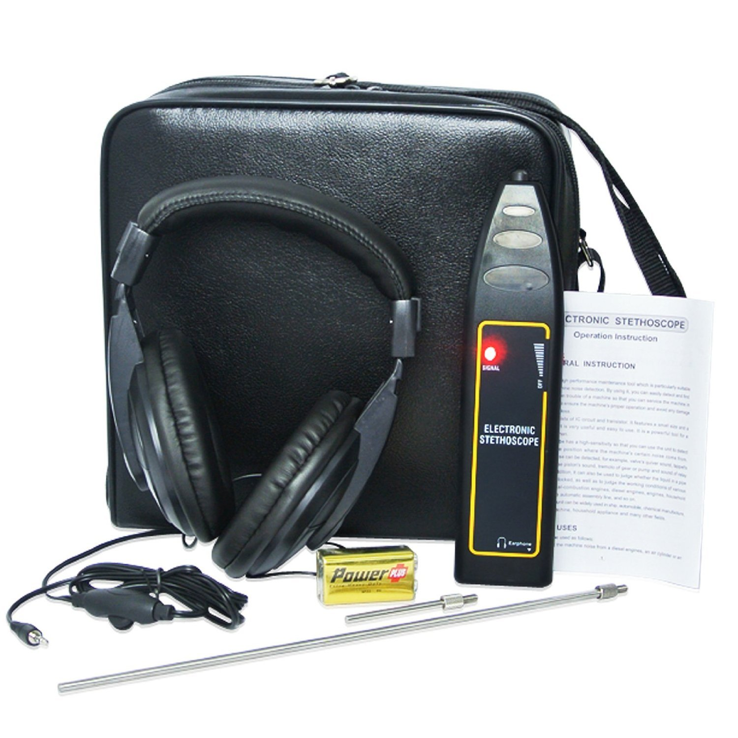 Autos Noise Finder Detector Electronic Stethoscope with An Adjustable Headset OKA 4333092950
