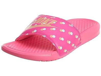 san francisco b6d4d 3f73d NIKE Benassi JDI Print Womens 618919-604 Pink Sunset Glow ...