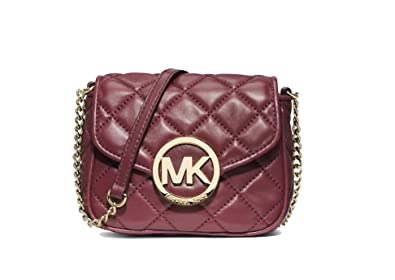 b455eec95fbc5 Image Unavailable. Image not available for. Color  Michael Michael Kors  Fulton Small Quilted Crossbody