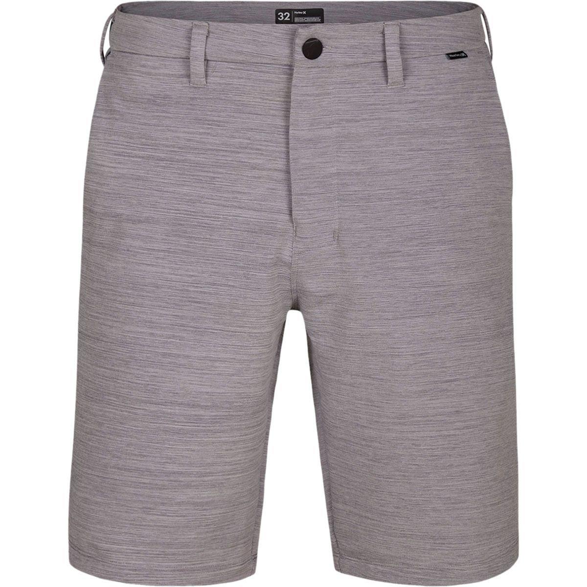 Hurley Dri-FIT Cutback 21'' Chino Shorts - Wolf Grey - 36