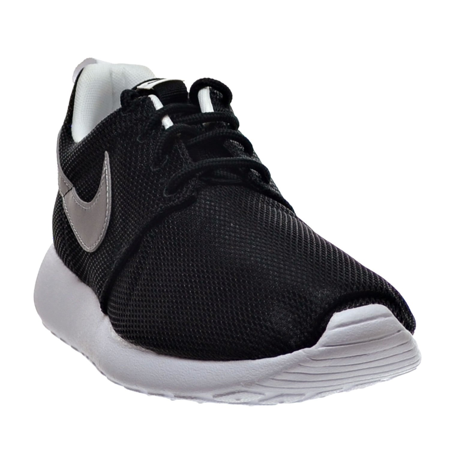 9ba722b5b4 Amazon.com | Nike Air Roshe One (GS) Big Kid's Shoes Black/Metallic Silver/White  599728-021 (6 M US) | Running