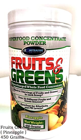 Amazon.com: Superfood concentrado frutas y verdes en polvo ...