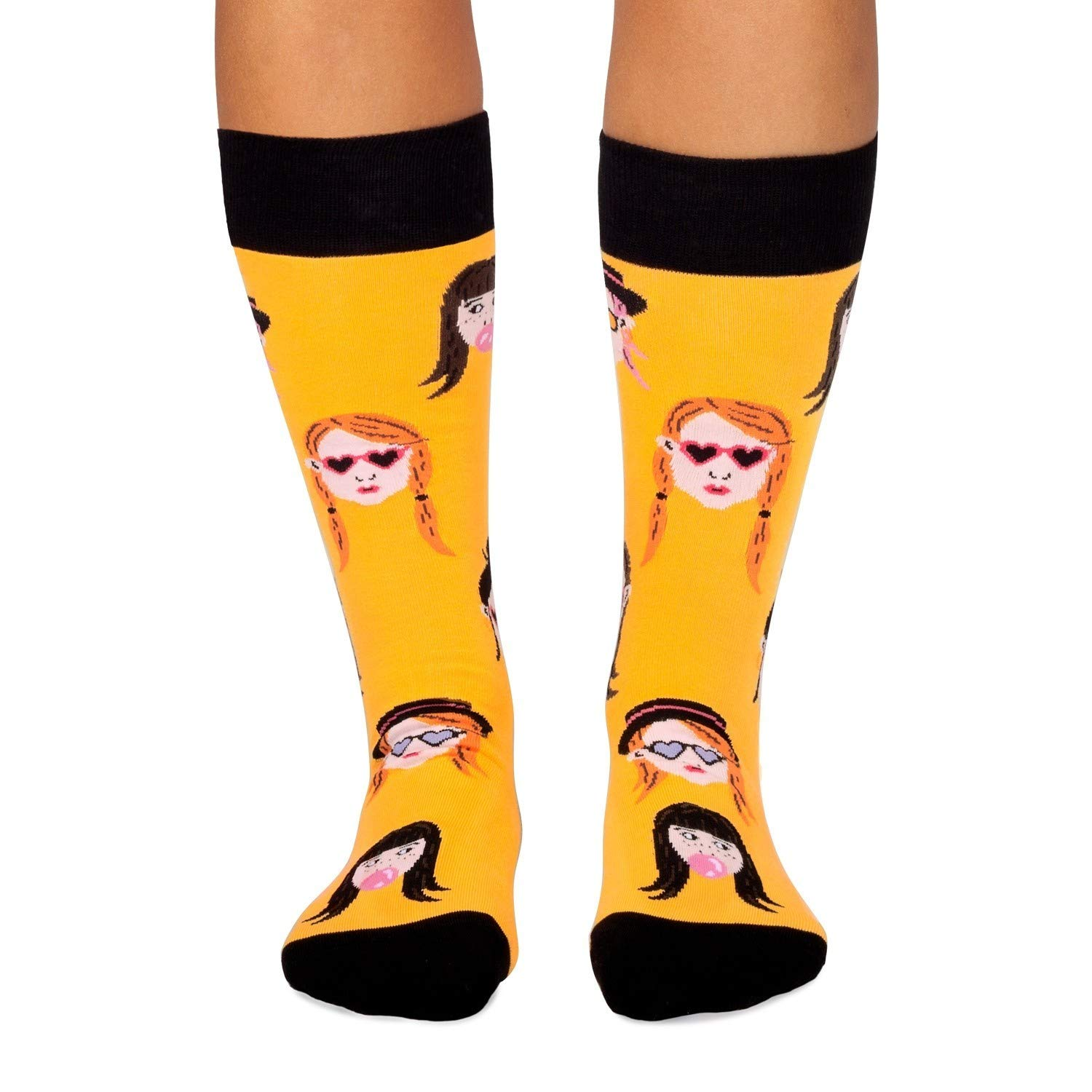Jimmy Lion Calcetines Hipster Chica Amarillo Talla 41-46: Amazon.es: Ropa y accesorios