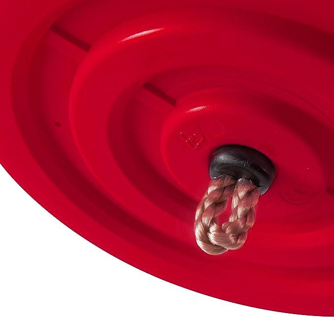 rouge disque de balan/çoire fleur Ultrakidz si/ège de balan/çoire r/églable en hauteur balan/çoire /à disque en plastique r/ésistant aux intemp/éries