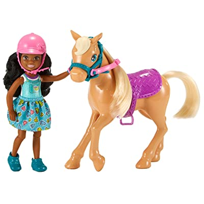 Barbie Club Chelsea Dolls & Horse: Toys & Games