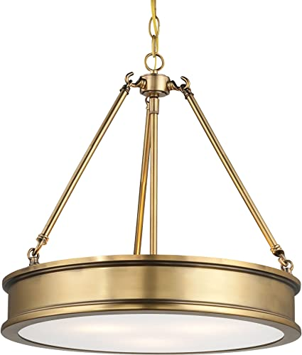 Minka Lavery Harbour Point 4173-249 Drum 3 Light 300 watt Pendant
