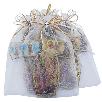 Amazon.com: Guardian Angel pared Cruz en decorado bolsa de ...
