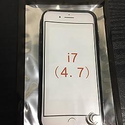 Amazon Co Jp My Way Iphone 7 ケース Tpu グリップ カバー アイフォン7 Iphone7 4 7 Design S Black 黒 家電 カメラ