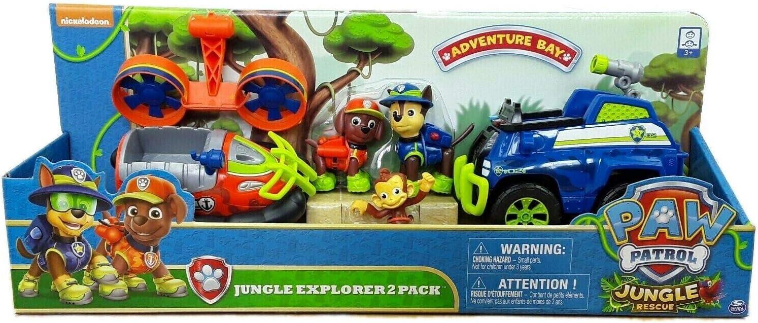 Nickelodeon Paw Patrol Jungle Explorer 2 Pack: Amazon.es: Juguetes y juegos