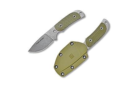 Amazon.com: Real Mango RSK Hunter 165 Fixed cuchillo Full ...