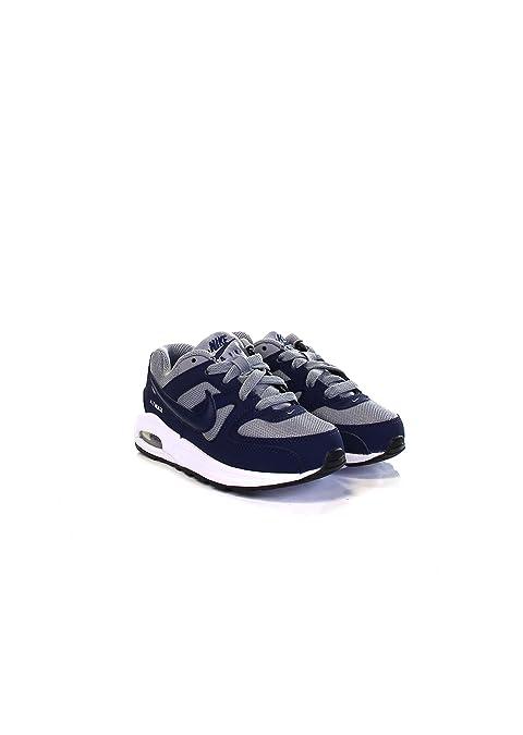 55e4c297a9 ... promo code for nike air max command flex ps sneaker a collo basso  bambino stealth midnight