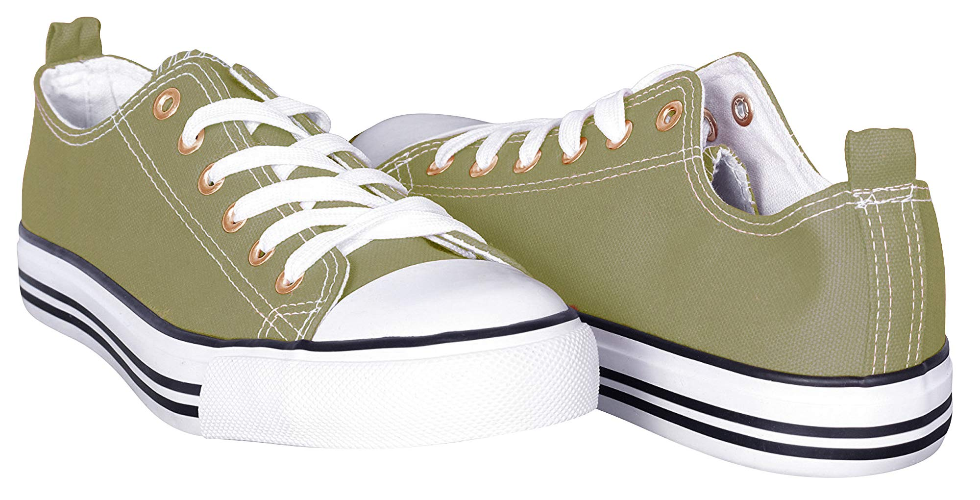 8c58122c940c3 Shop Pretty Girl Women's Sneakers Casual Canvas Shoes Solid Colors ...