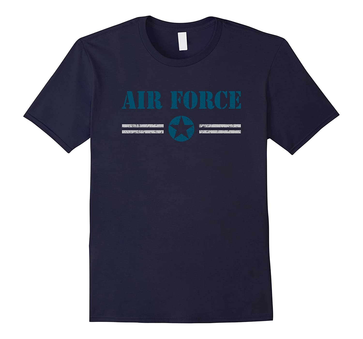 Air Force Distressed T-shirt for Men Women Kids-CD