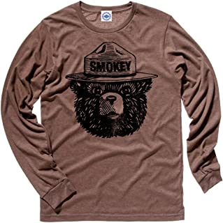 product image for Hank Player U.S.A. Official Smokey Bear Men's Long Sleeve T-Shirt