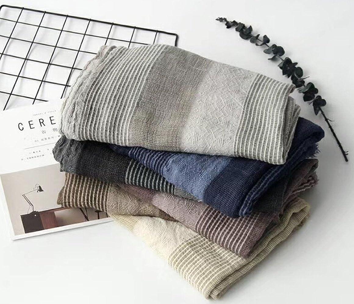 TOPSTORE01 Écharpe Châle Design Rayé Foulard Chaud Étole Femme (Gris)   Amazon.fr  Vêtements et accessoires 228ab67bf61