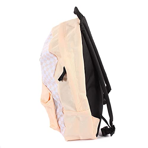 4f75c1403c7 Vans Unisex Realm Polyester Backpack Bleached Apricot  Checkerboard-Apricot-O S  Amazon.co.uk  Shoes   Bags