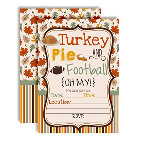 amazon com turkey pie football oh my thanksgiving party