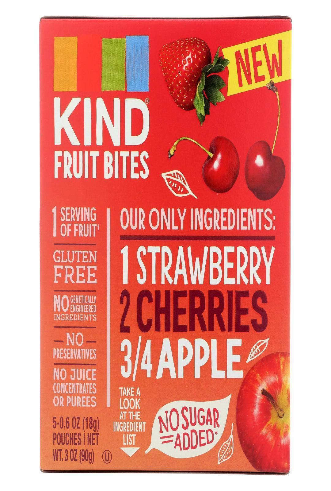 Kind Bite Fort Strawberry Apple