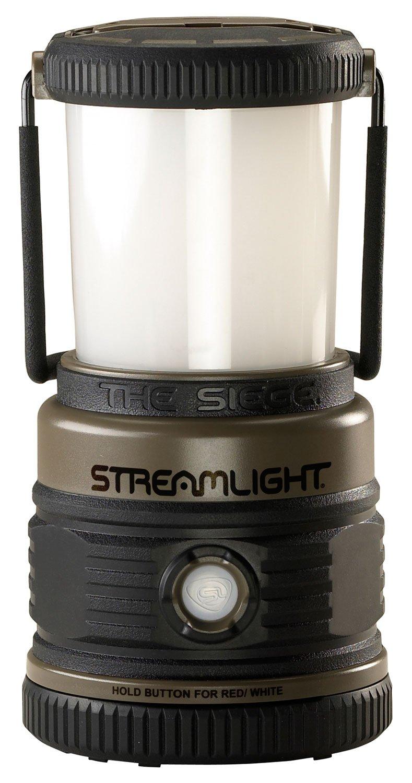 "Streamlight 44931 Siege Compact, Cordless, 7.25"" Alkaline Hand Lantern - Coyote - 540 Lumens"